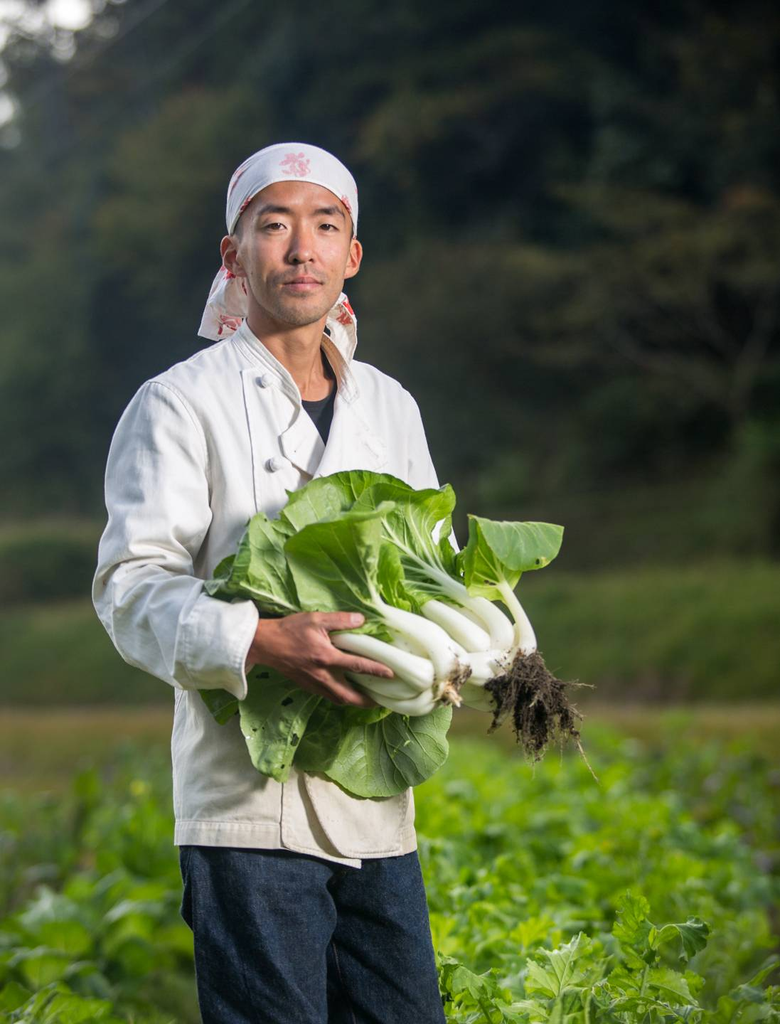 Yoshihara-san is the owner and chef of the quaint little farm and bakery tucked away in Mitsu.