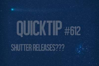 Quicktip! Shutter releases